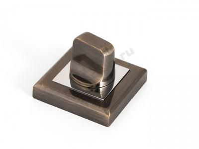 Сантехническая завертка квадратная Кофе