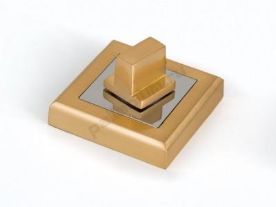 Сантехническая завертка квадратная Матовое золото