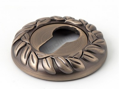 Накладка под цилиндр круглая Матовая бронза
