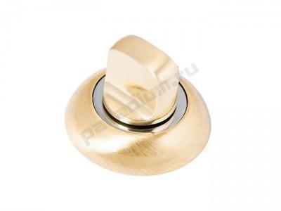 Сантехническая завертка круглая Матовое золото